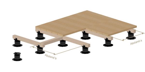 unterkonstruktionen bei terrassen. Black Bedroom Furniture Sets. Home Design Ideas